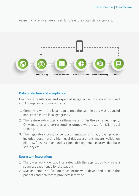 Data Science | Healthcare Azure micro services ...