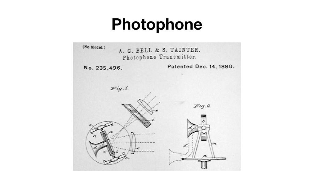 Photophone
