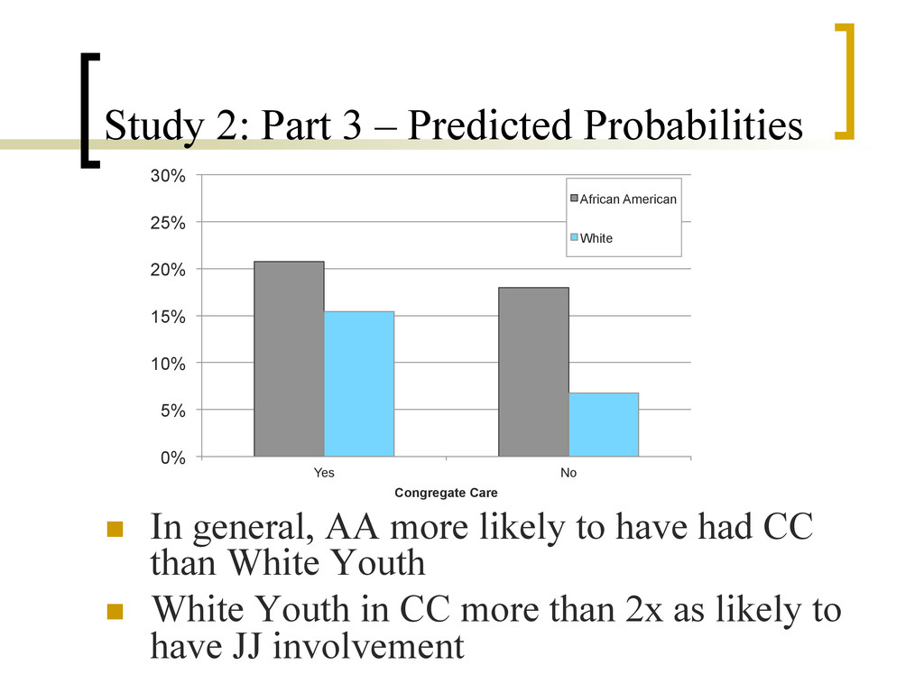 Study 2: Part 3 – Predicted Probabilities n  I...