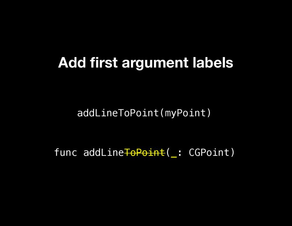 addLineToPoint(myPoint) func addLineToPoint(_: ...