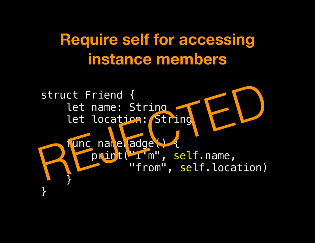 struct Friend { let name: String let location: ...