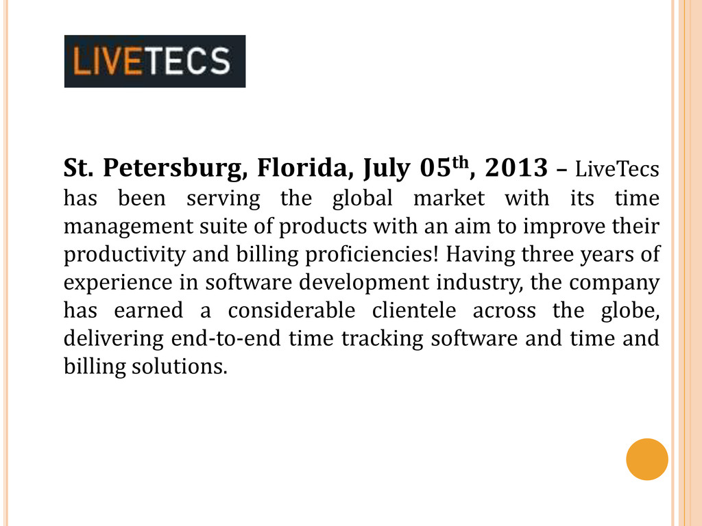 St. Petersburg, Florida, July 05th, 2013 – Live...