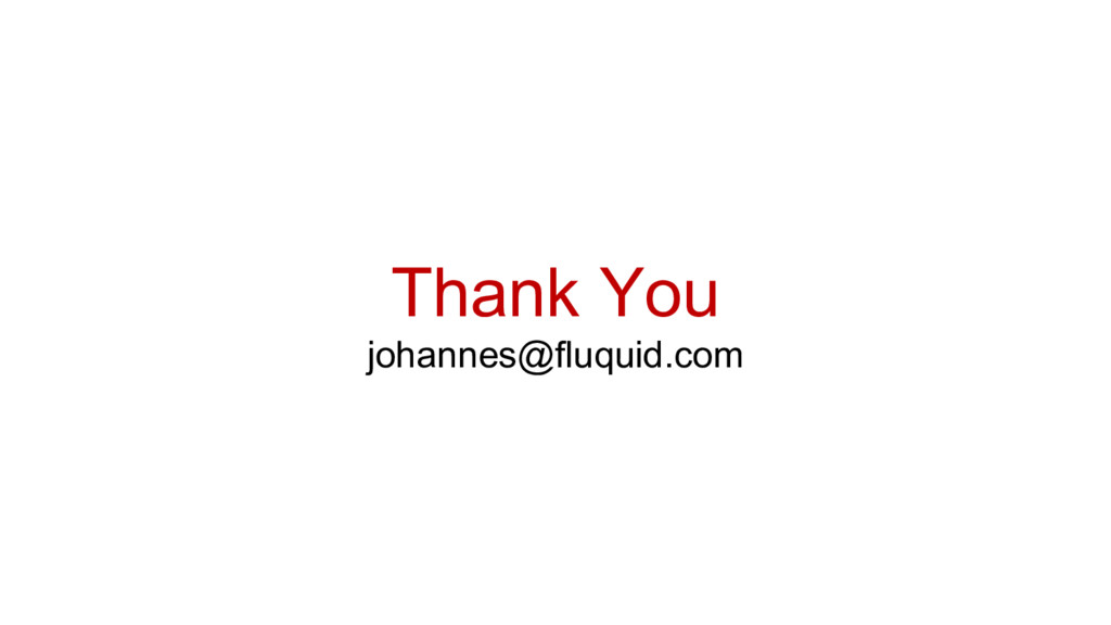 Thank You johannes@fluquid.com