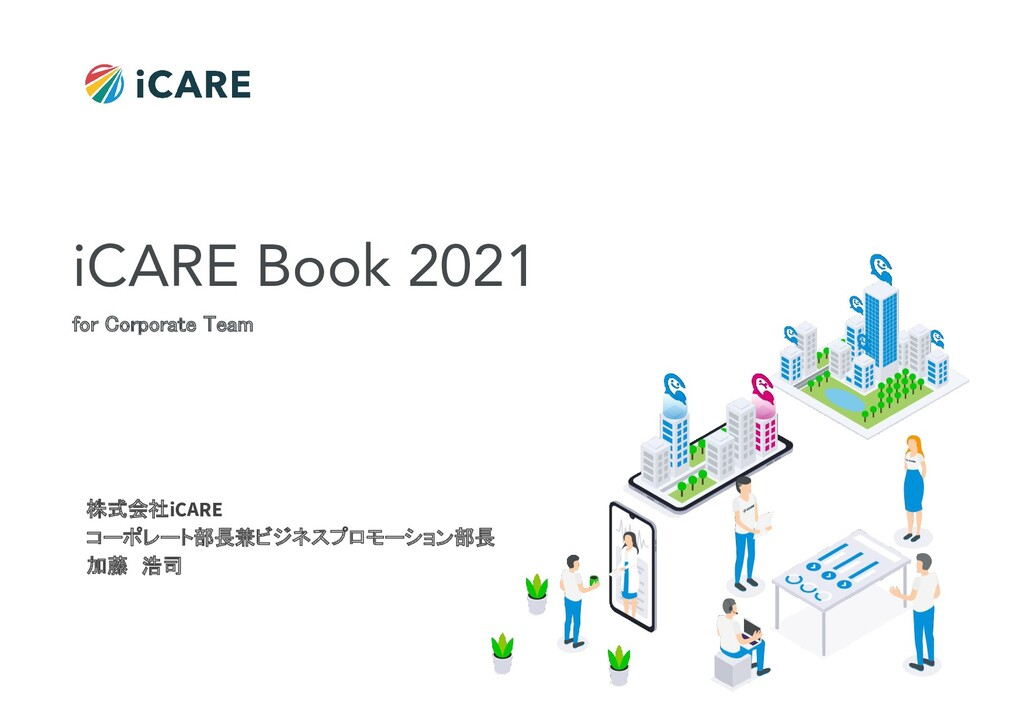 ©iCARE Co., Ltd All rights reserved 1 株式会社iCARE...