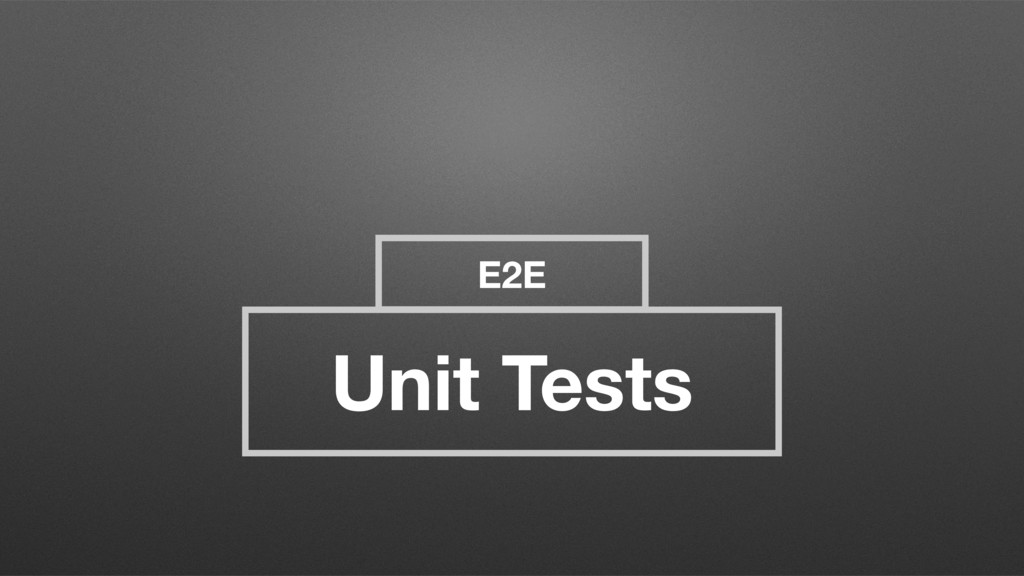 E2E Unit Tests