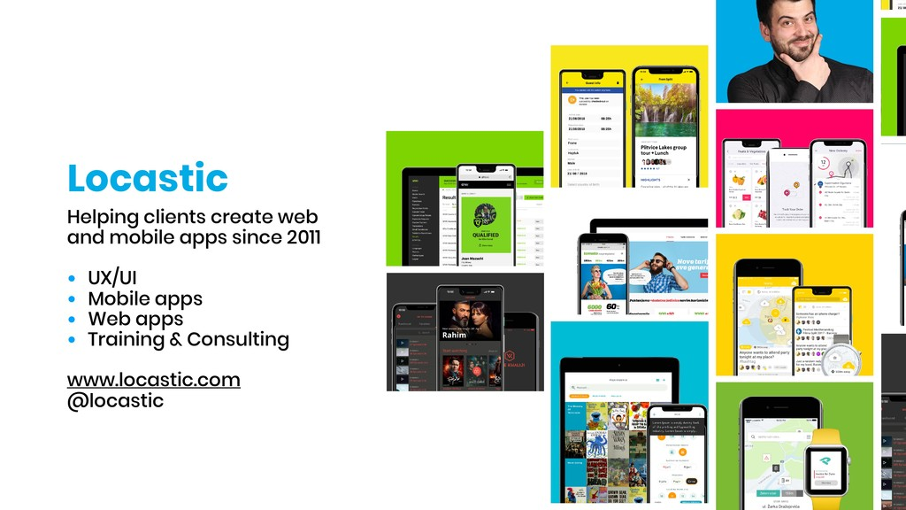 Locastic Helping clients create web and mobile ...