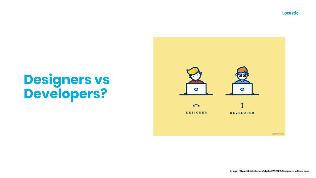 Designers vs Developers? image: https://dribbbl...