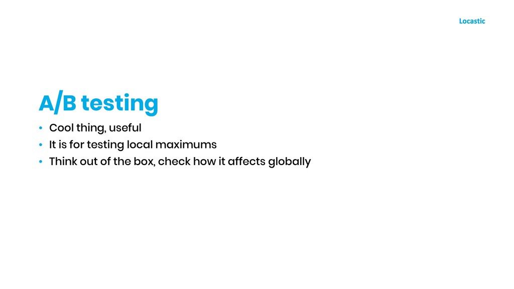 • Cool thing, useful • It is for testing local ...