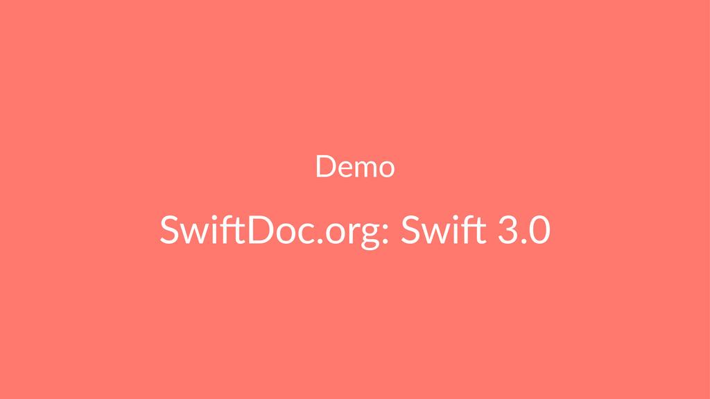 Demo Swi$Doc.org: Swi$ 3.0