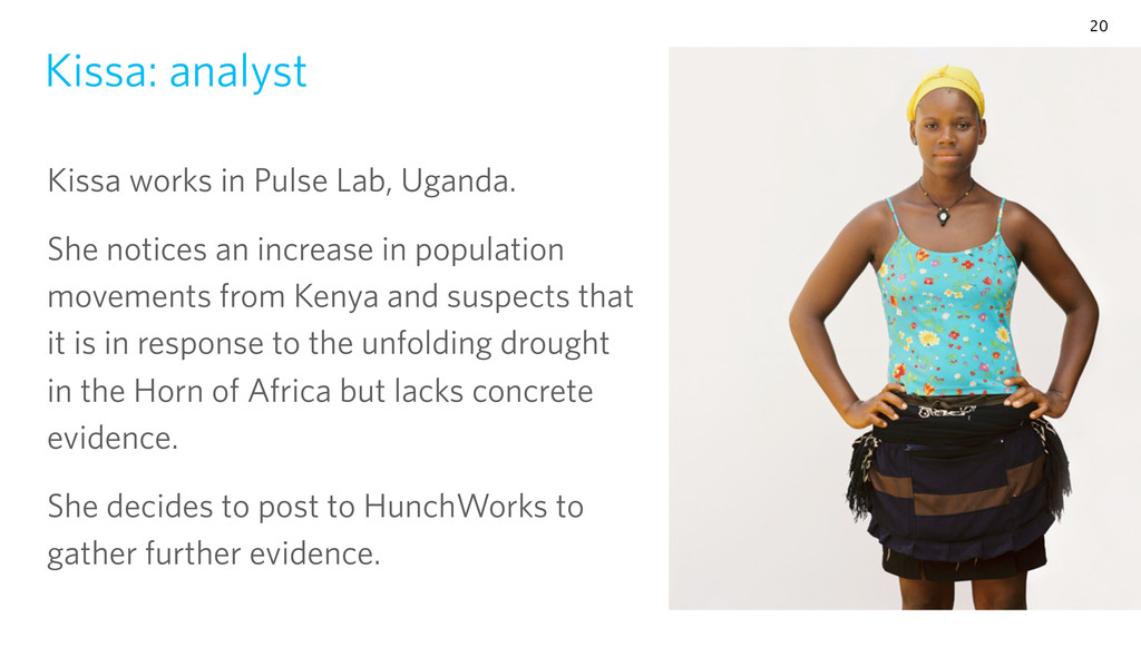 Kissa: analyst Kissa works in Pulse Lab, Uganda...