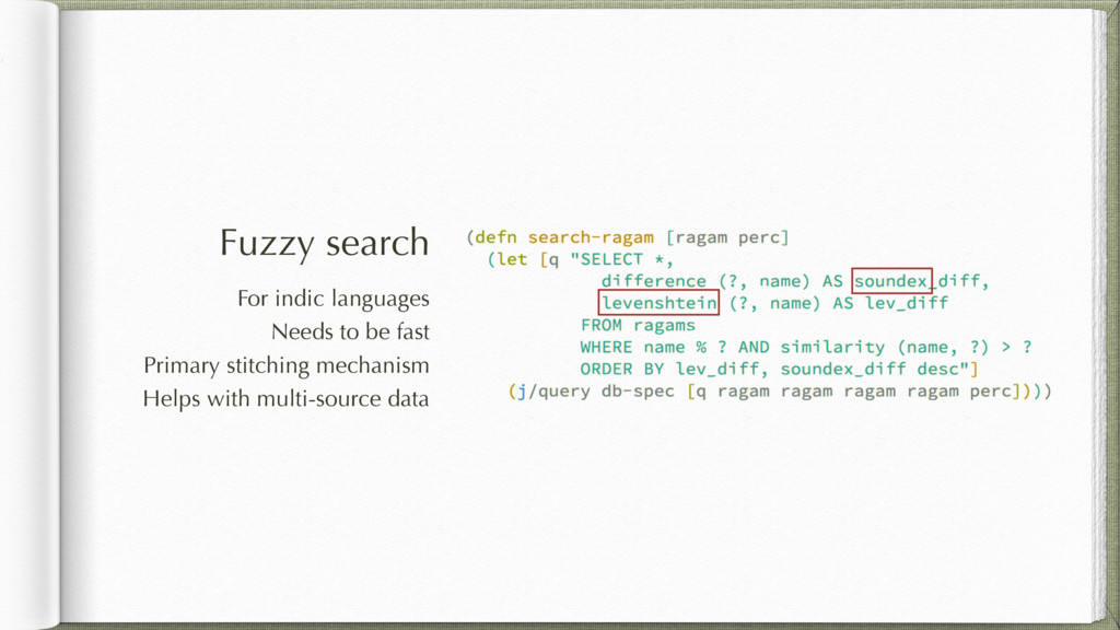 Fuzzy search For indic languages Needs to be fa...