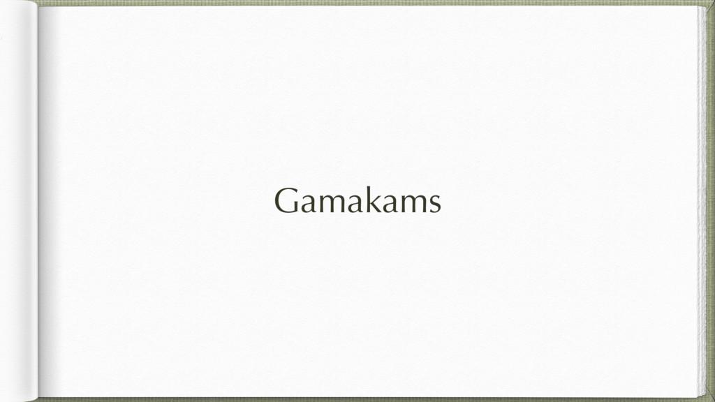 Gamakams