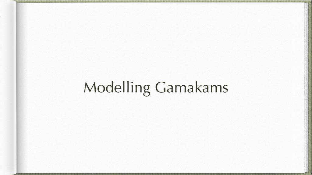 Modelling Gamakams