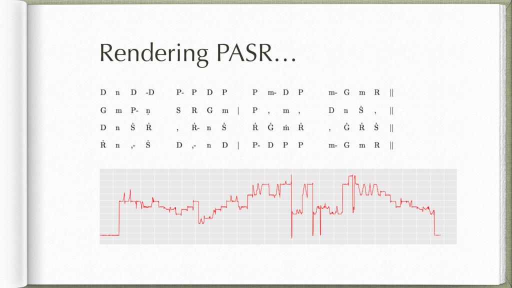 Rendering PASR…
