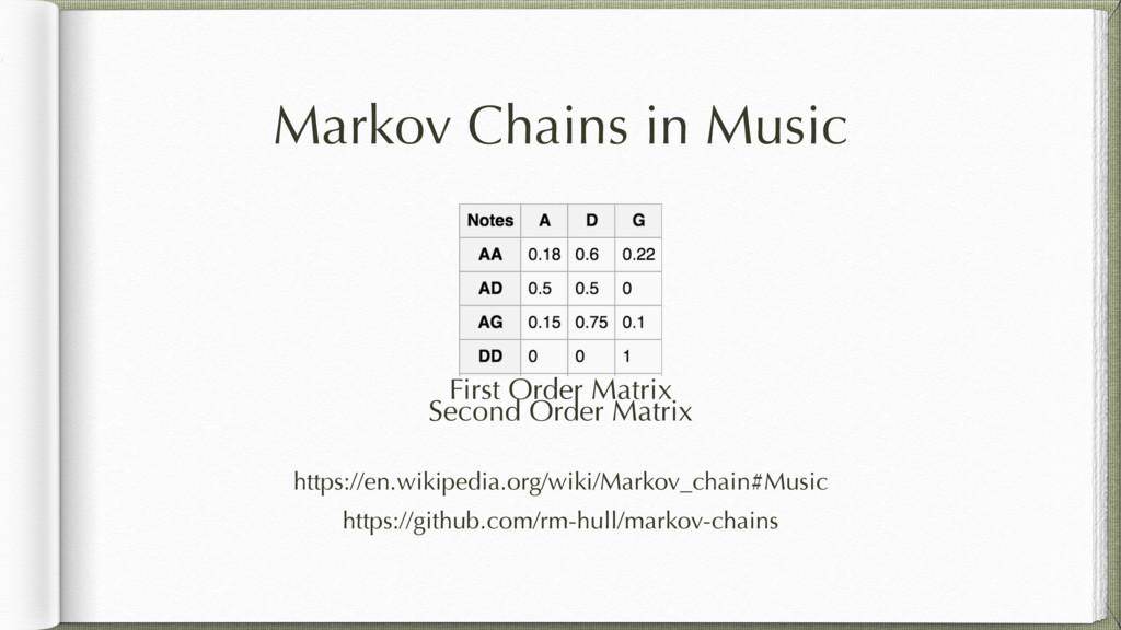 First Order Matrix https://en.wikipedia.org/wik...