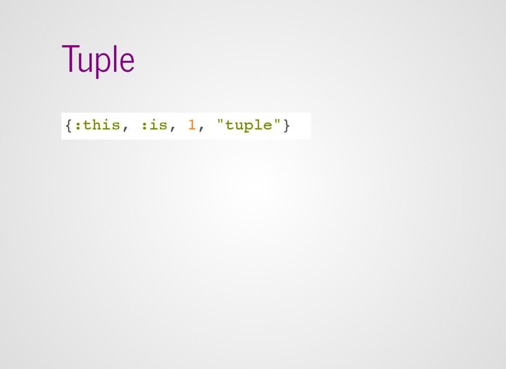 """Tuple {:this, :is, 1, """"tuple""""}"""