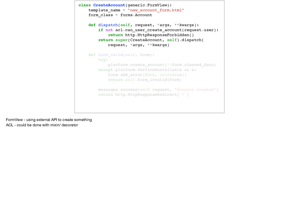 class CreateAccount(generic.FormView): template...