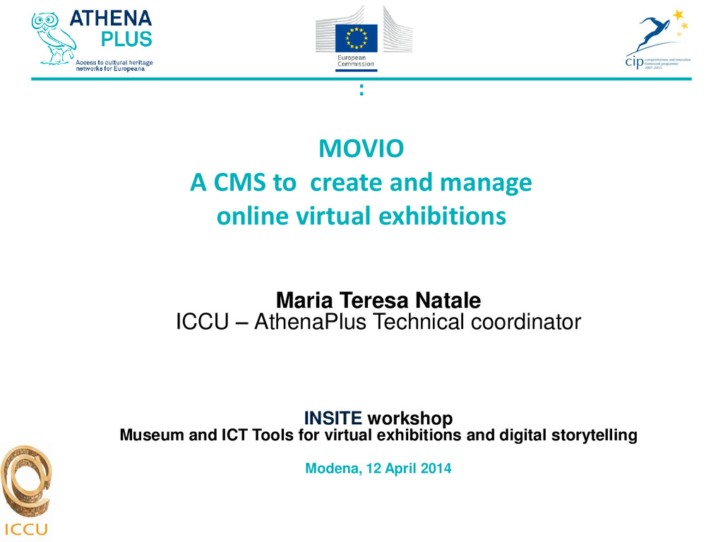 : MOVIO A CMS to create and manage online virtu...