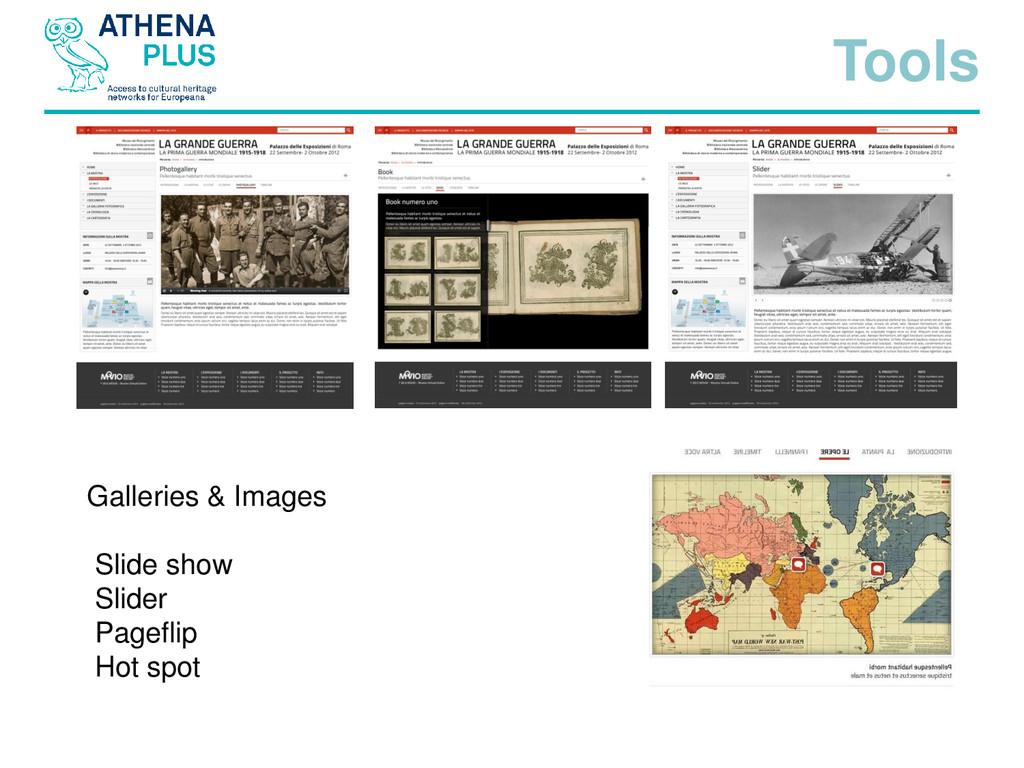Galleries & Images Slide show Slider Pageflip H...
