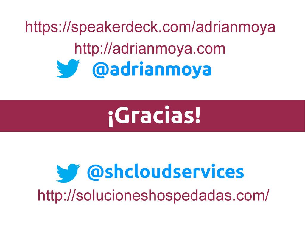 ¡Gracias! @shcloudservices https://speakerdeck....
