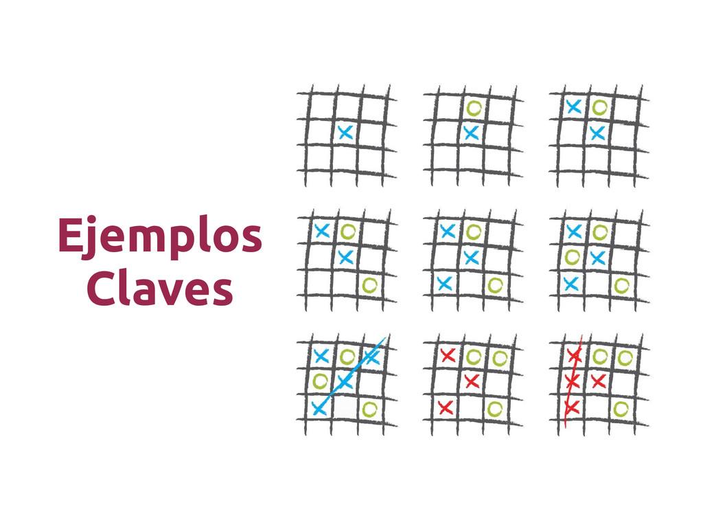 Ejemplos Claves