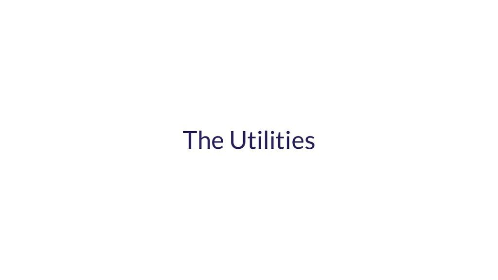 The Utilities