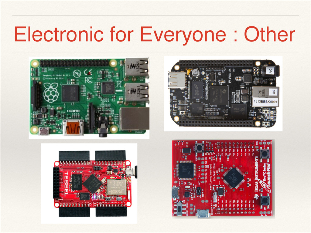 Electronic for Everyone : Other ! !