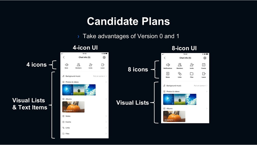 4 icons Candidate Plans › Take advantages of Ve...
