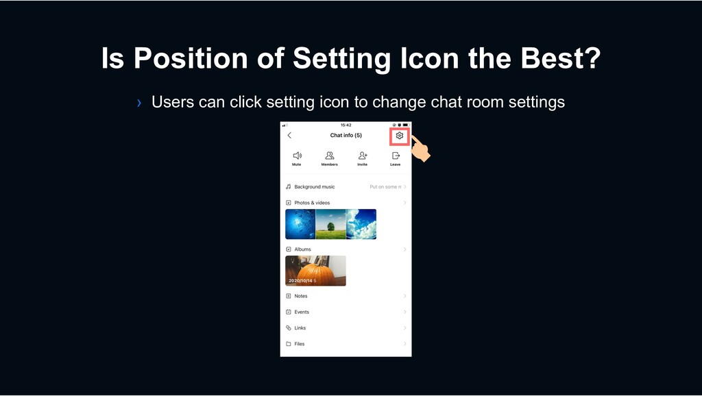 Is Position of Setting Icon the Best? › Users c...