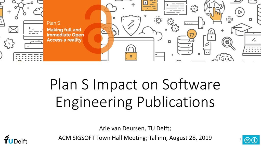 Plan S Impact on Software Engineering Publicati...