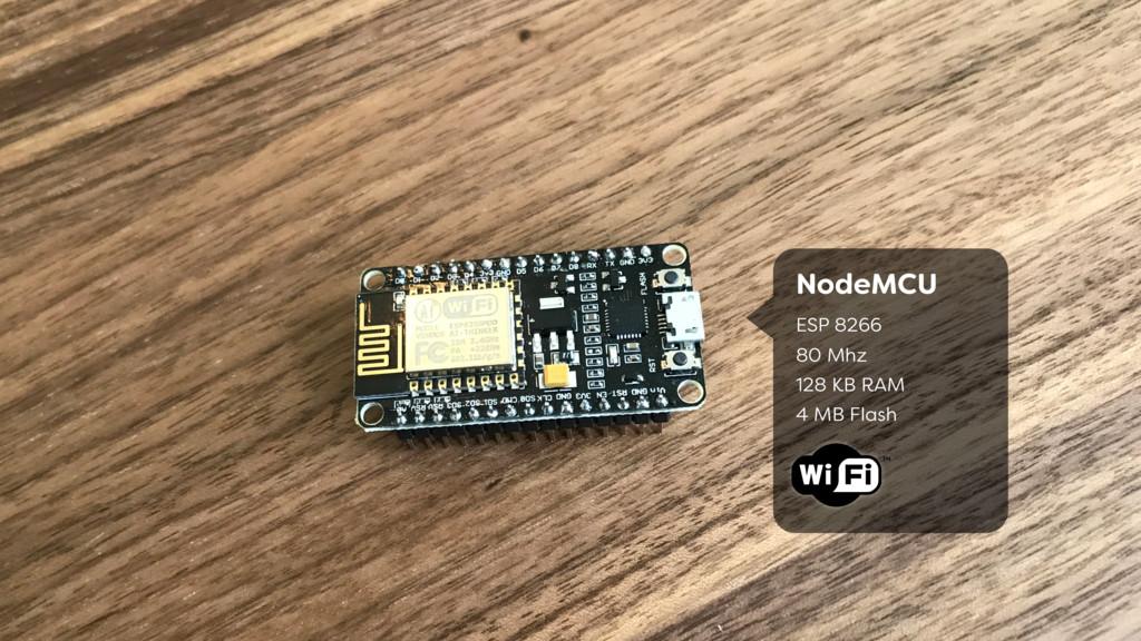 NodeMCU ESP 8266 80 Mhz 128 KB RAM 4 MB Fla...