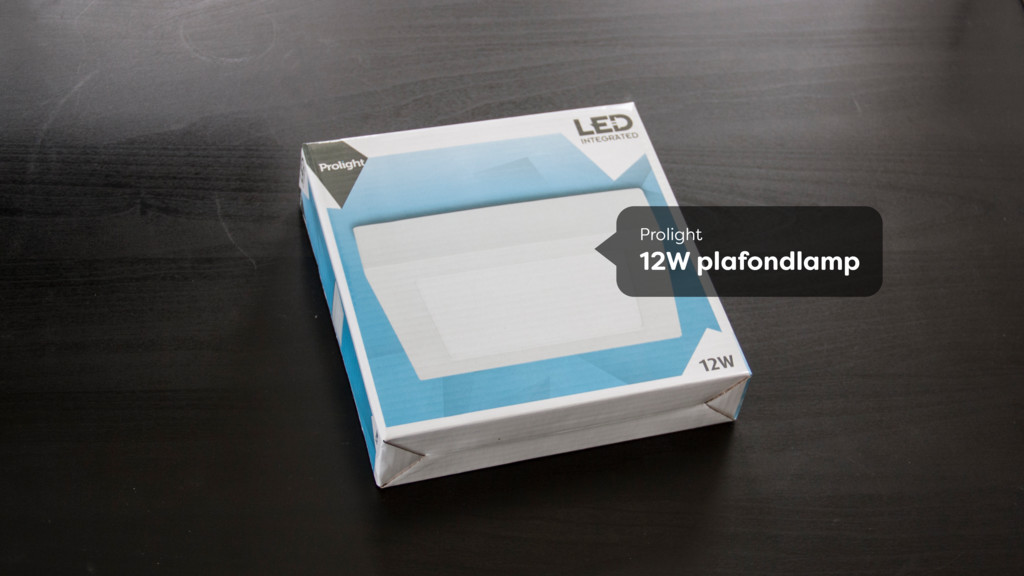 Prolight 12W plafondlamp