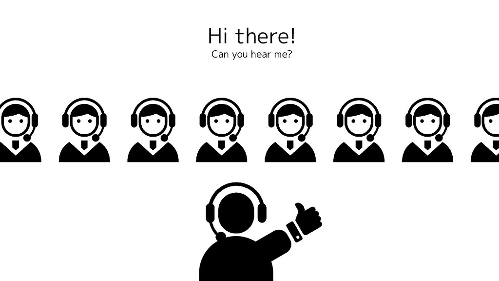 Hi there! Can you hear me?