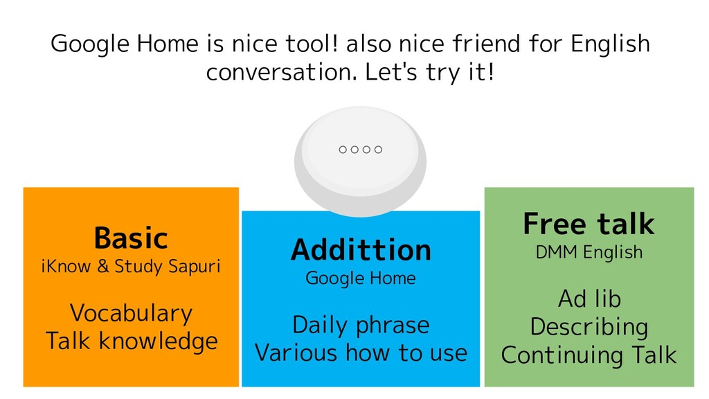 Google Home is nice tool! also nice friend for ...