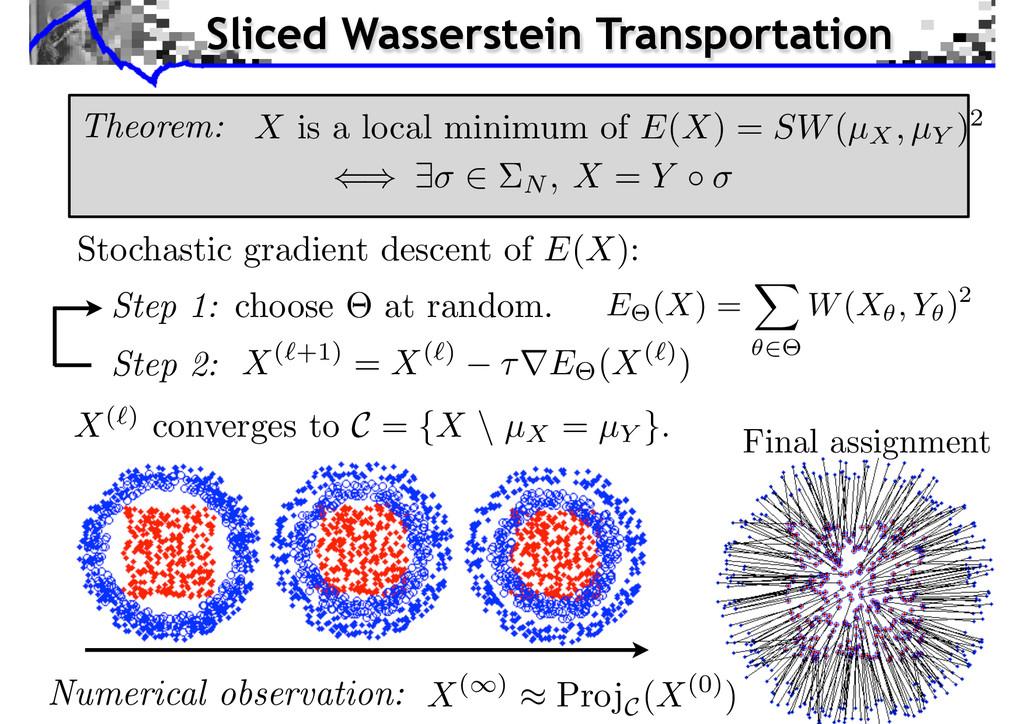 Stochastic gradient descent of E(X): E (X) = W(...