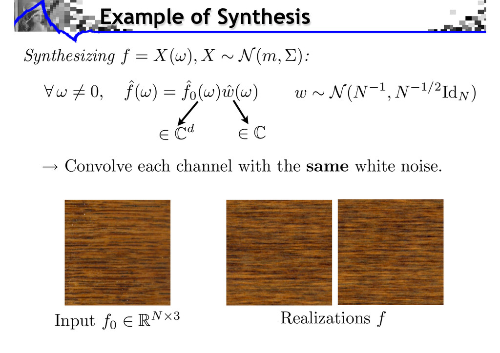 Cd C Input f0 RN 3 Realizations f Example of Sy...