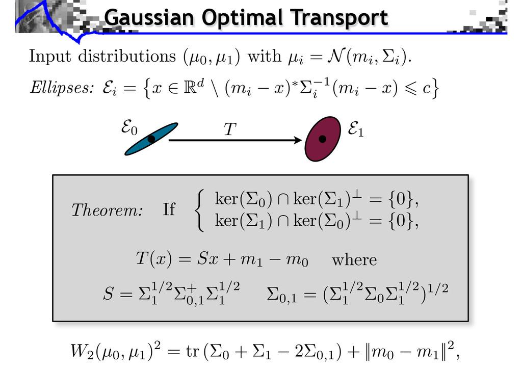 Input distributions (µ0, µ1 ) with µi = N(mi, i...
