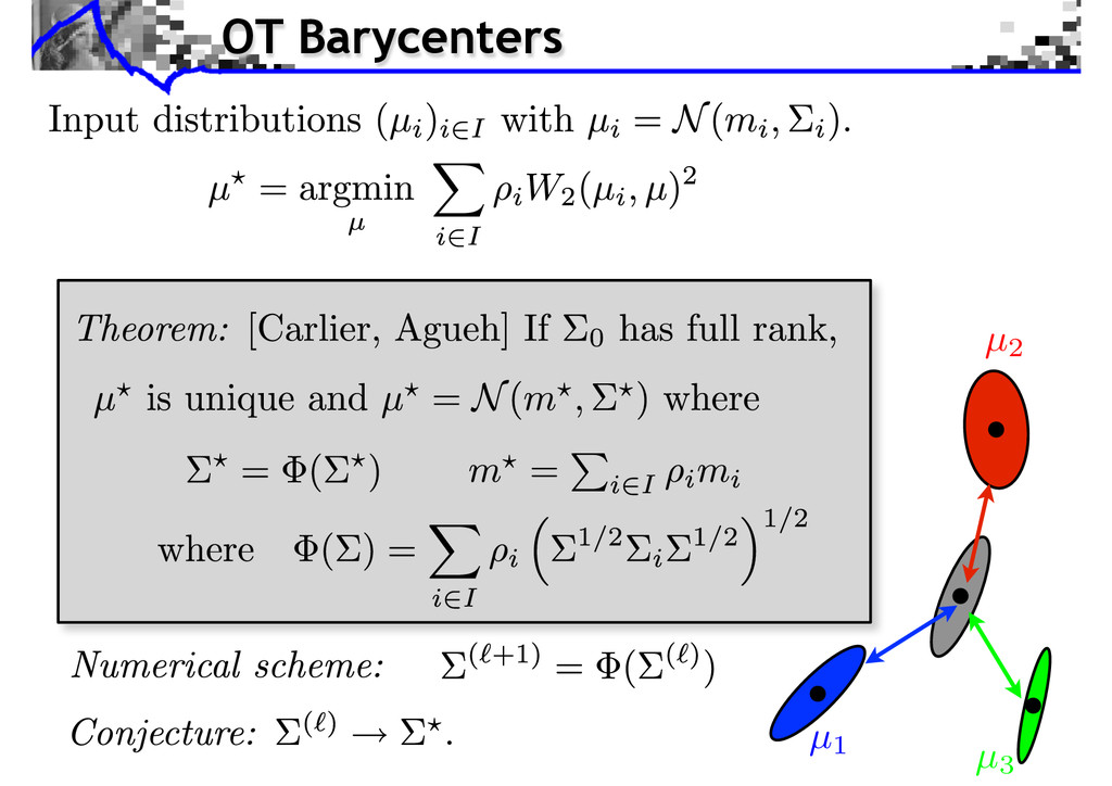 OT Barycenters µ1 µ3 µ2