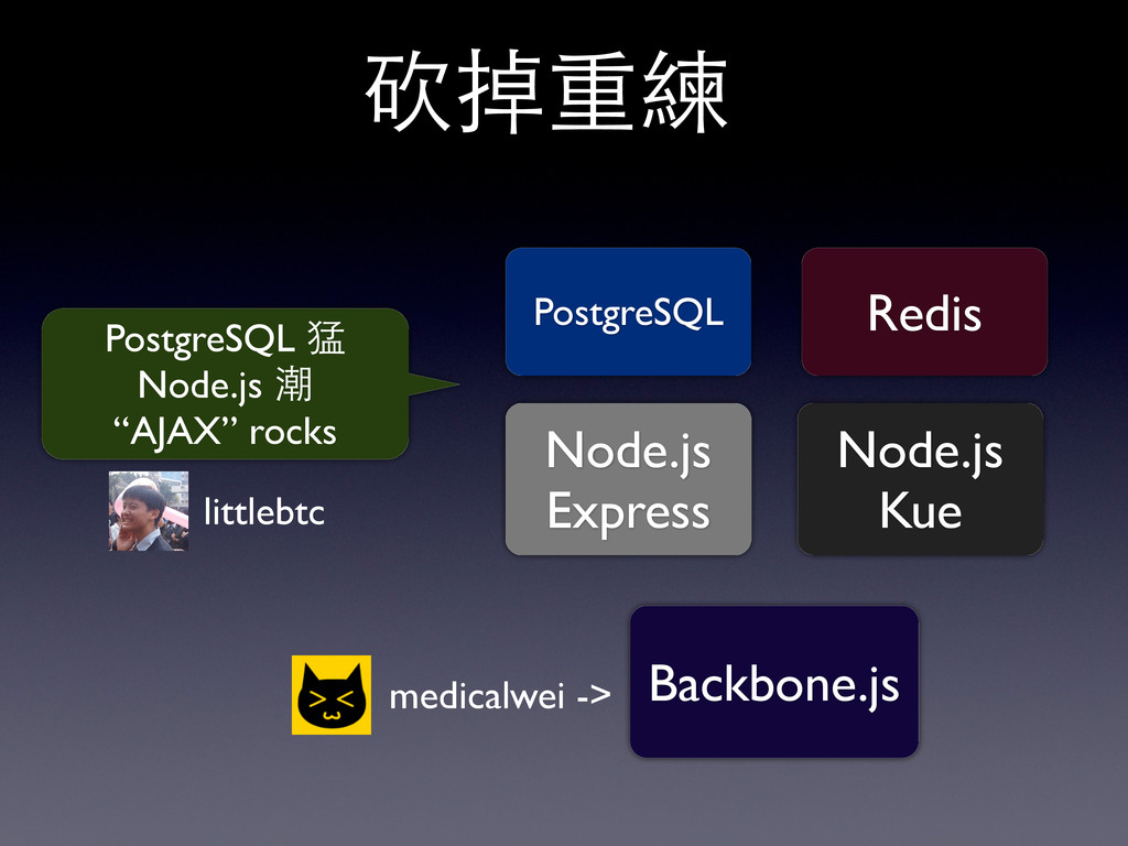 "PostgreSQL 猛 Node.js 潮 ""AJAX"" rocks PostgreSQL ..."