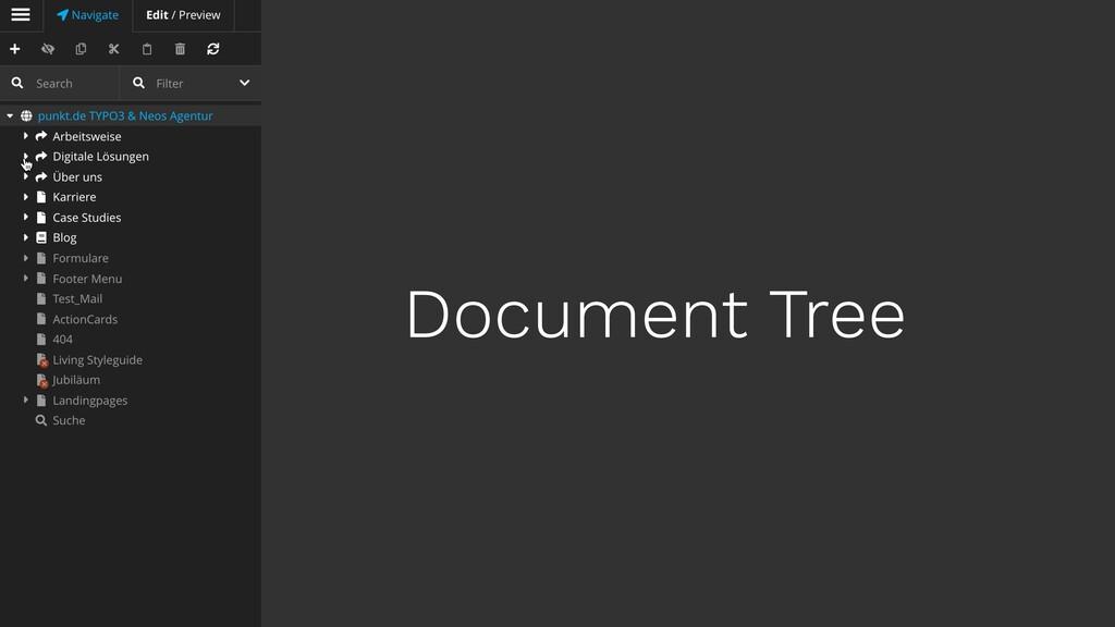 Document Tree