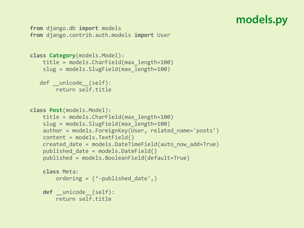 from django.db import models from ...