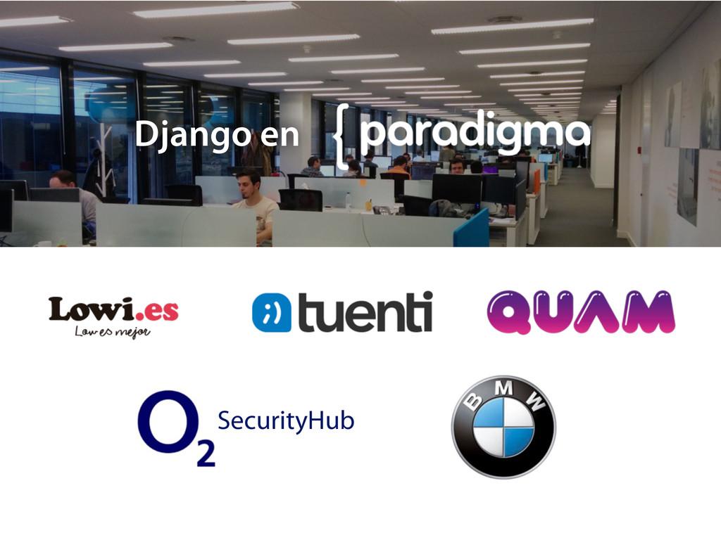 Django en SecurityHub