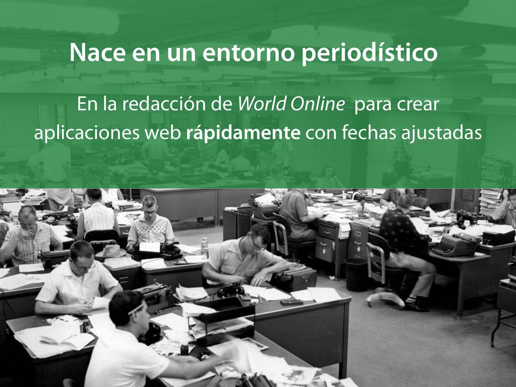 En la redacción de World Online para crear apli...