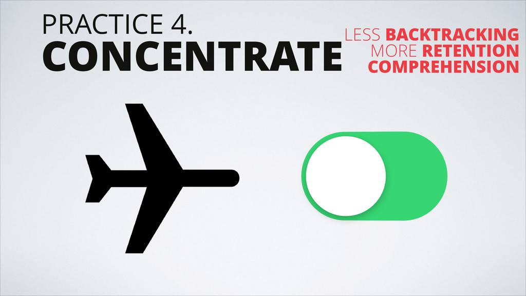 PRACTICE 4. CONCENTRATELESS BACKTRACKING MORE R...