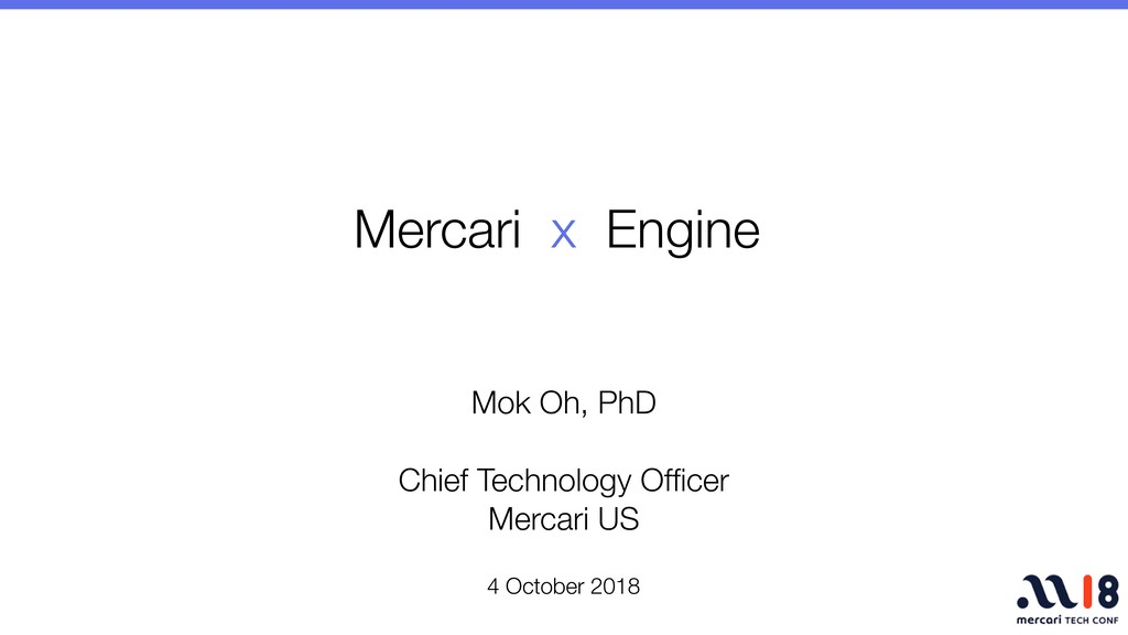 4 October 2018 Mok Oh, PhD Chief Technology Offi...