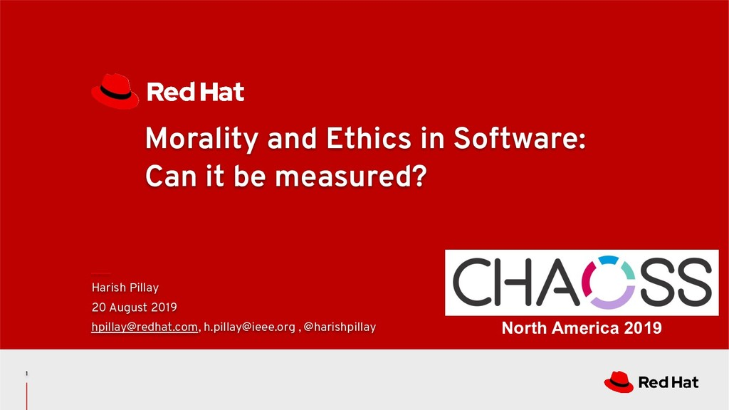 Morality and Ethics in Software: Can it be meas...