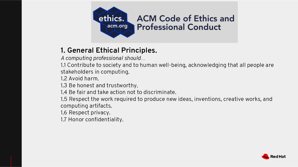 1. General Ethical Principles. A computing prof...