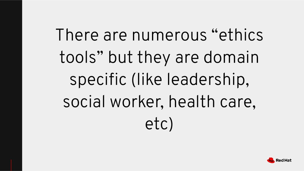 """There are numerous """"ethics tools"""" but they are ..."""