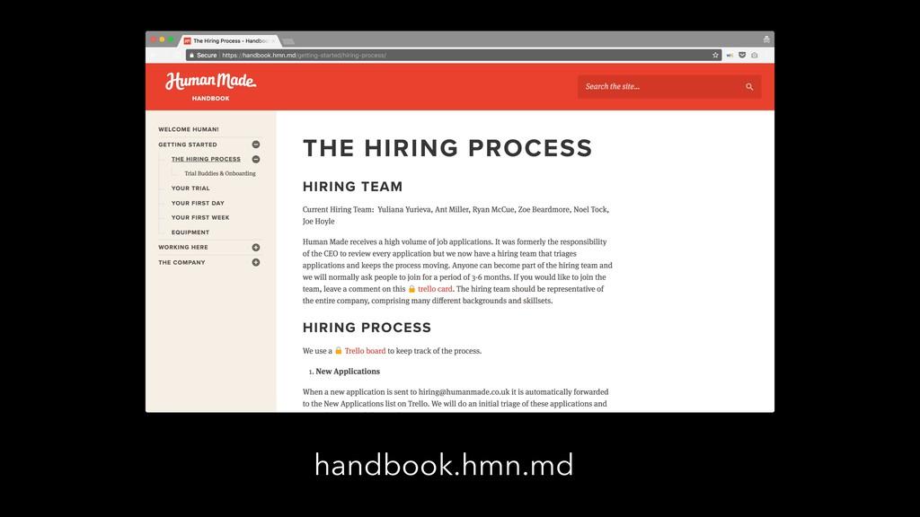 handbook.hmn.md