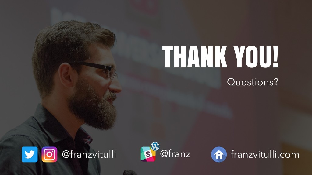 @franzvitulli THANK YOU! @franz franzvitulli.co...